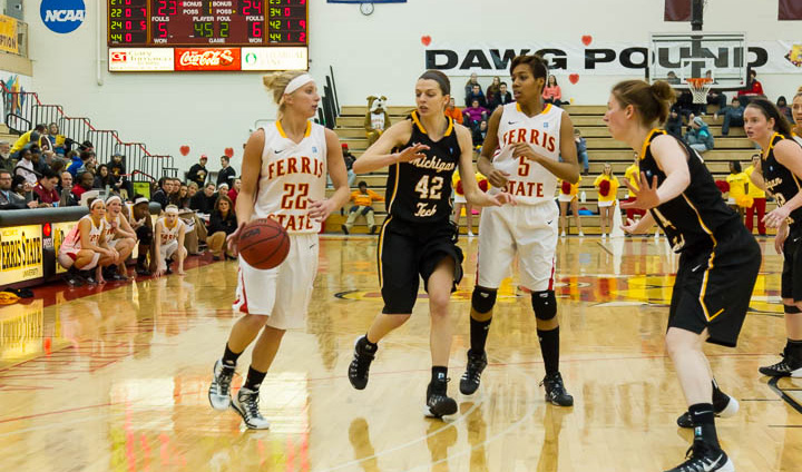 Big Second Half Leads Michigan Tech Past FSU In Women's Action