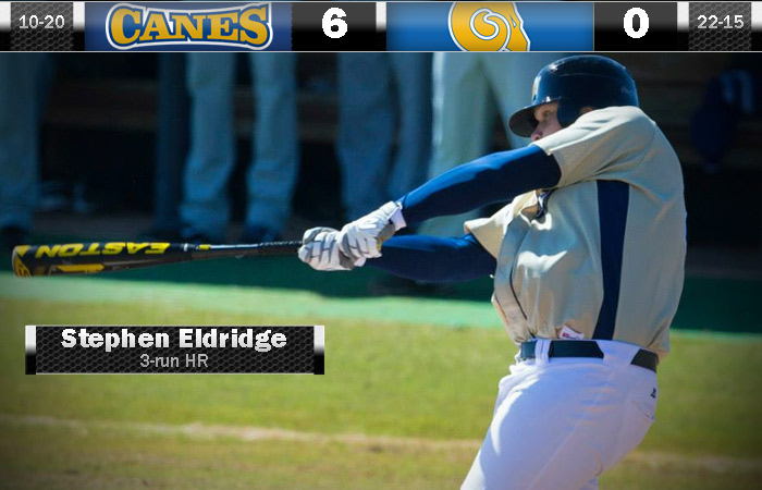 Smith Throws A Gem; GSW Beats Albany State, 6-1