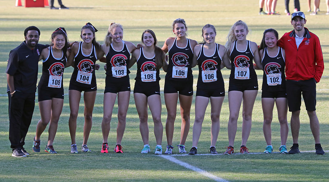 The 2019 Chapman women's cross country team.