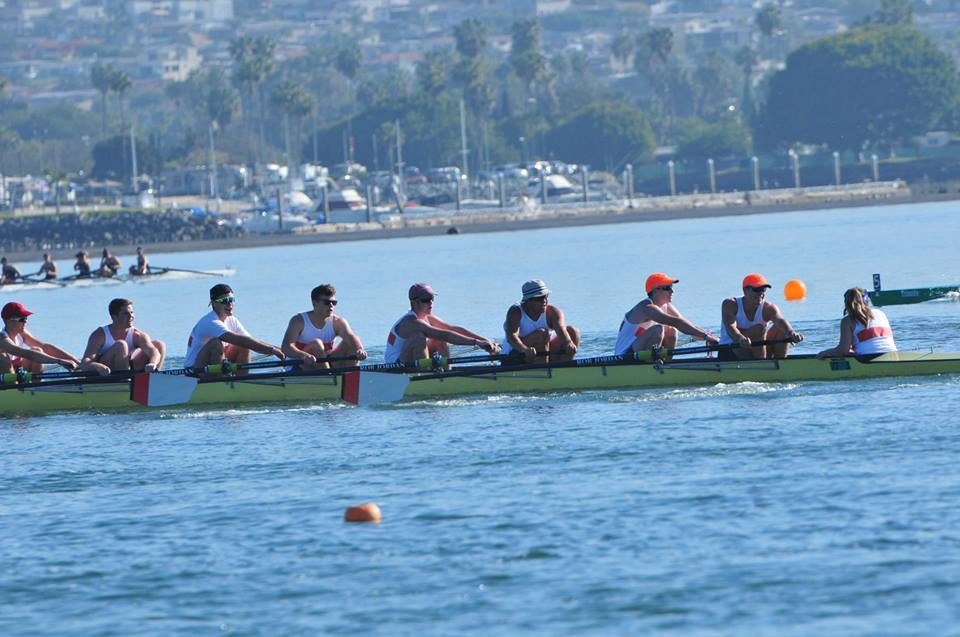 Mixed results for Pirate men's crew at San Diego Crew Classic
