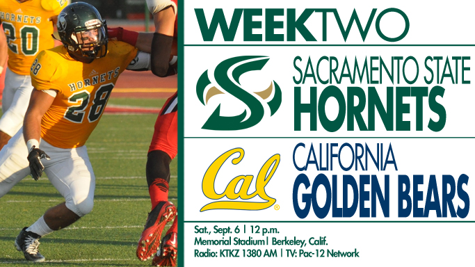 FOOTBALL HEADS TO CAL ON SATURDAY