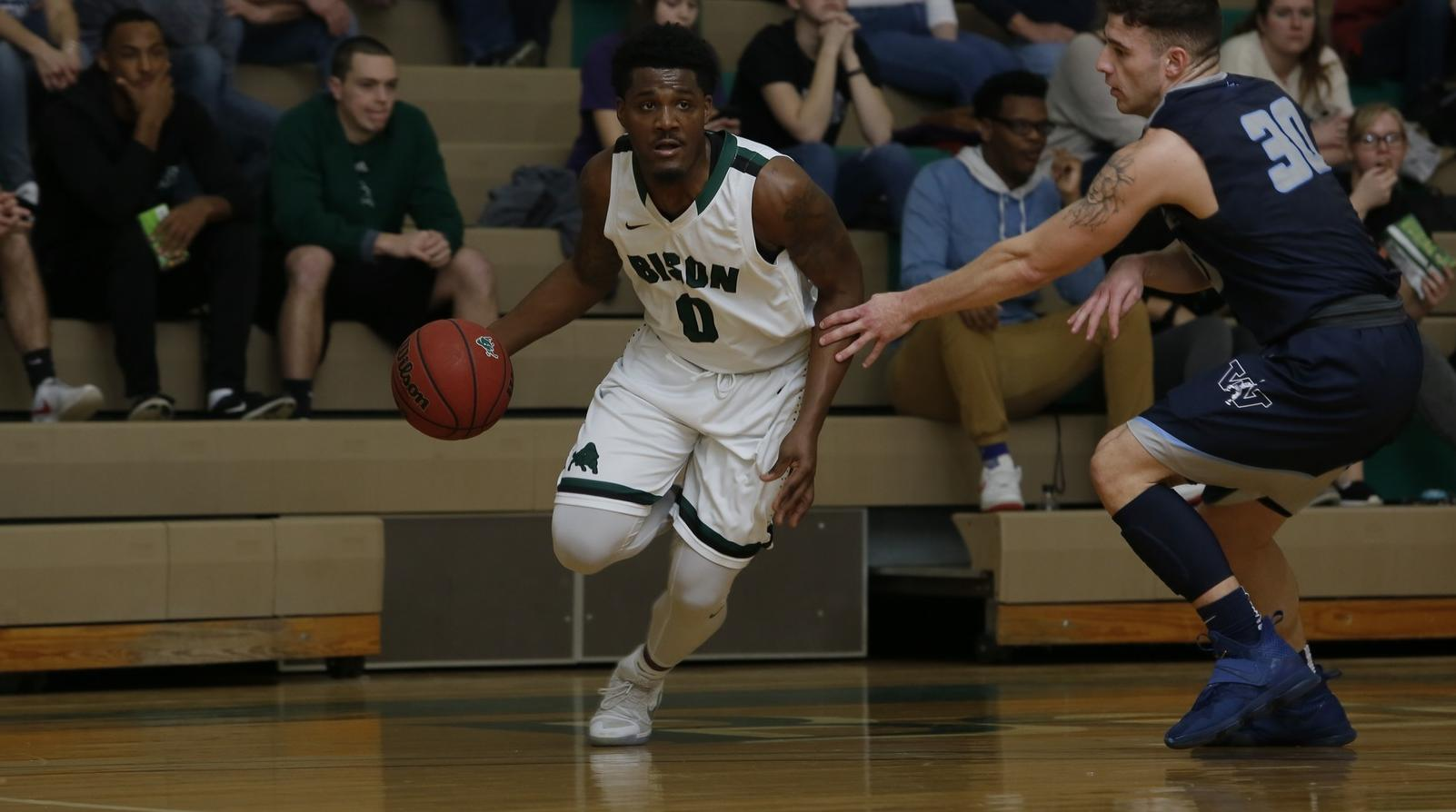 Bison rally past Westminster in PAC Semifinals, 76-72