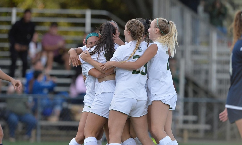 UNBEATEN STREAK NOW 11 AS WOMEN'S SOCCER BATTLES TO 1-1 DRAW IN HOME CONFERENCE OPENER