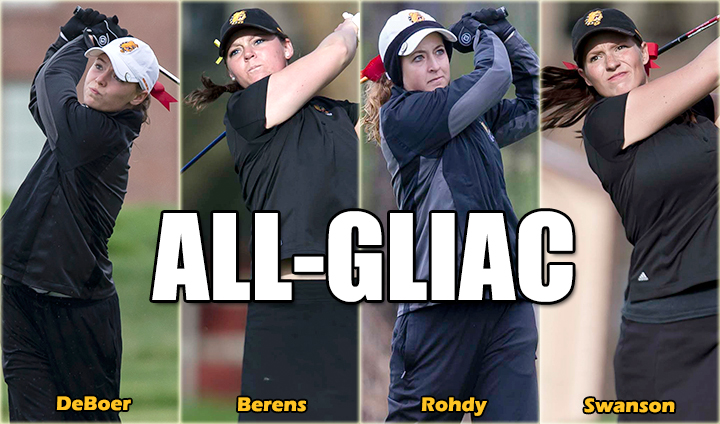 Four Ferris State Women's Golfers Claim All-GLIAC Recognition