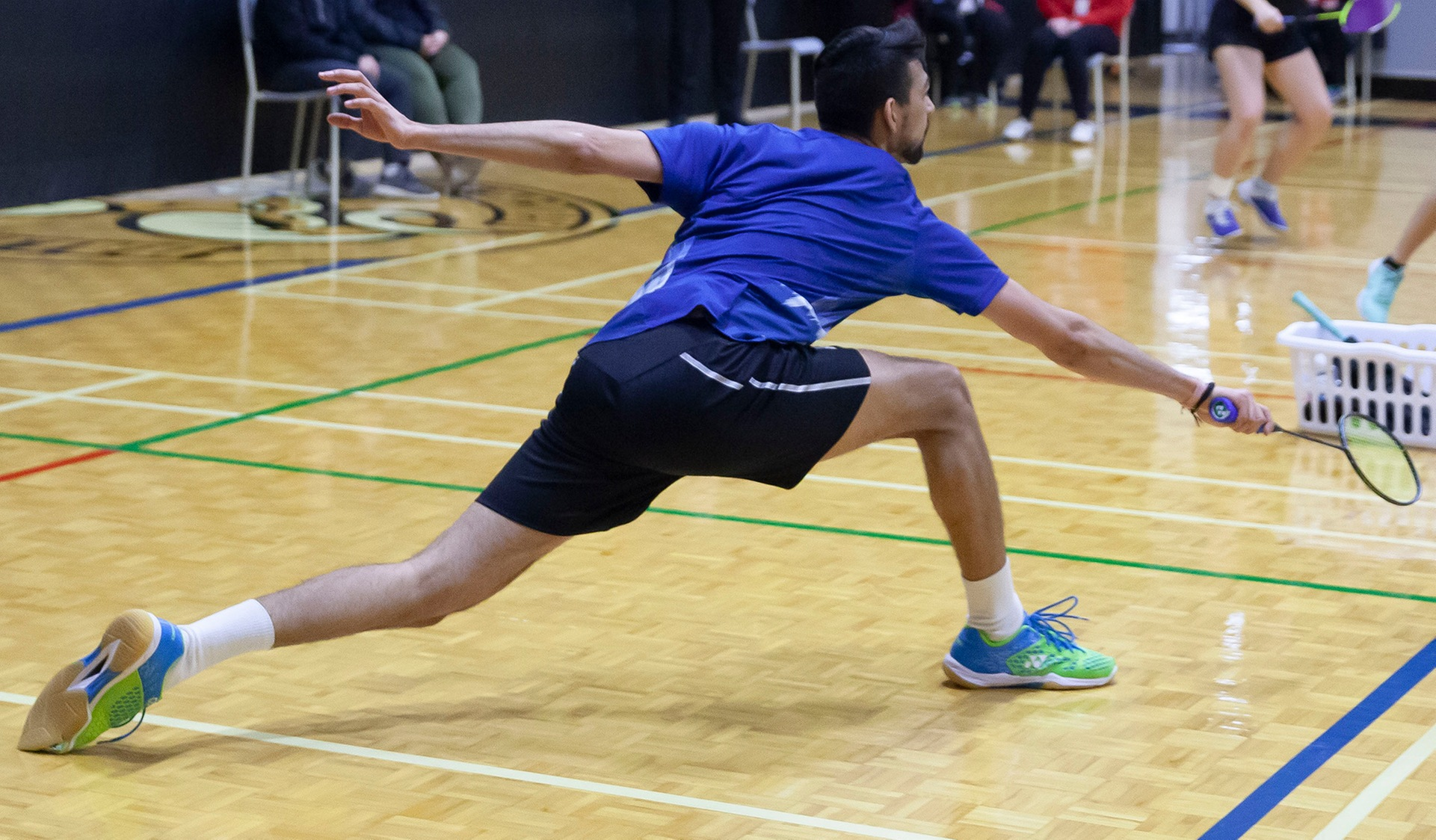 INJURED AND BATTERED KUMAR ADVANCES TO CCAA MEN'S SINGLES GOLD MATCH