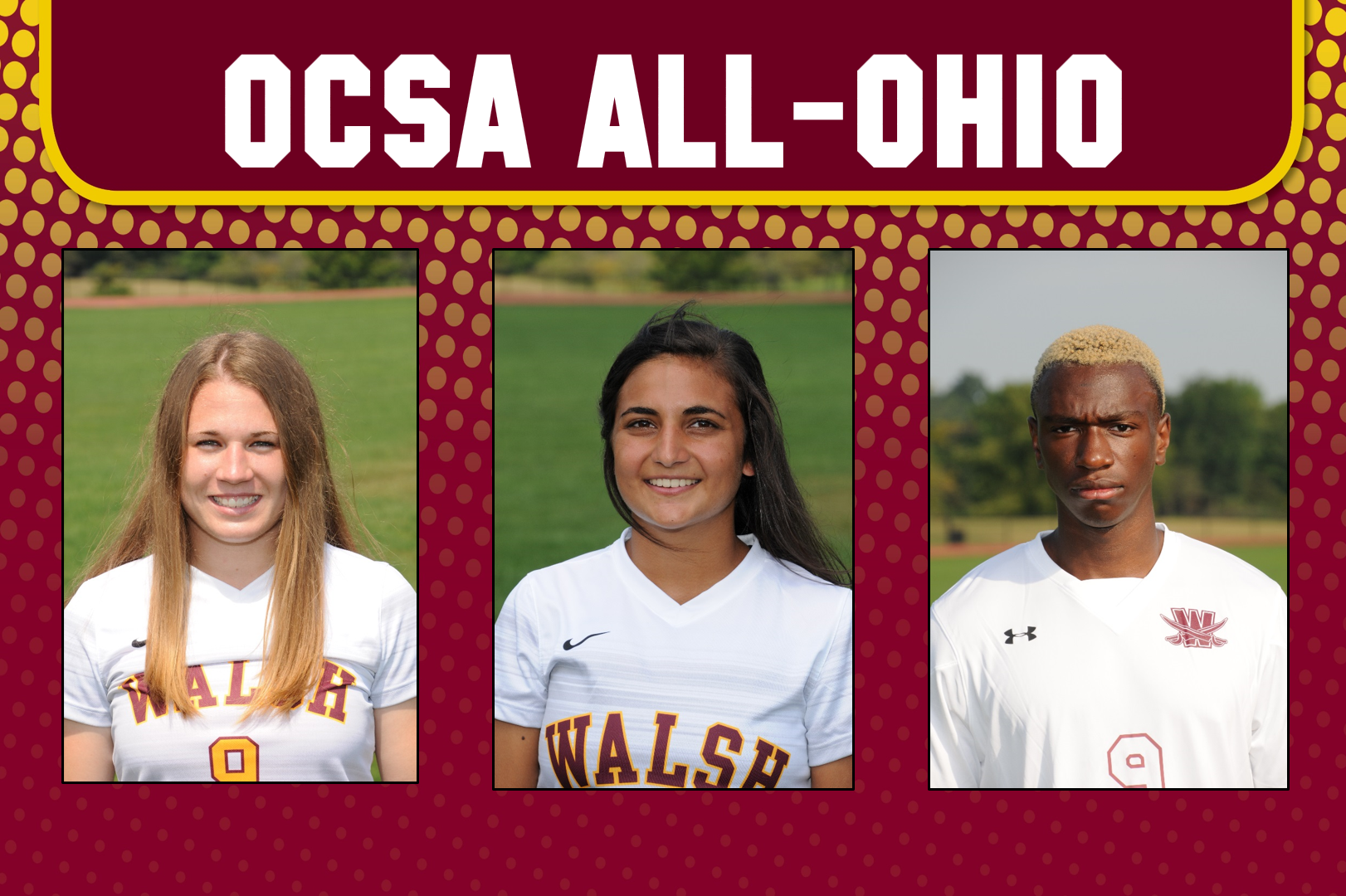 Peters, Himes, Ajala-Alexis Named OCSA All-Ohio