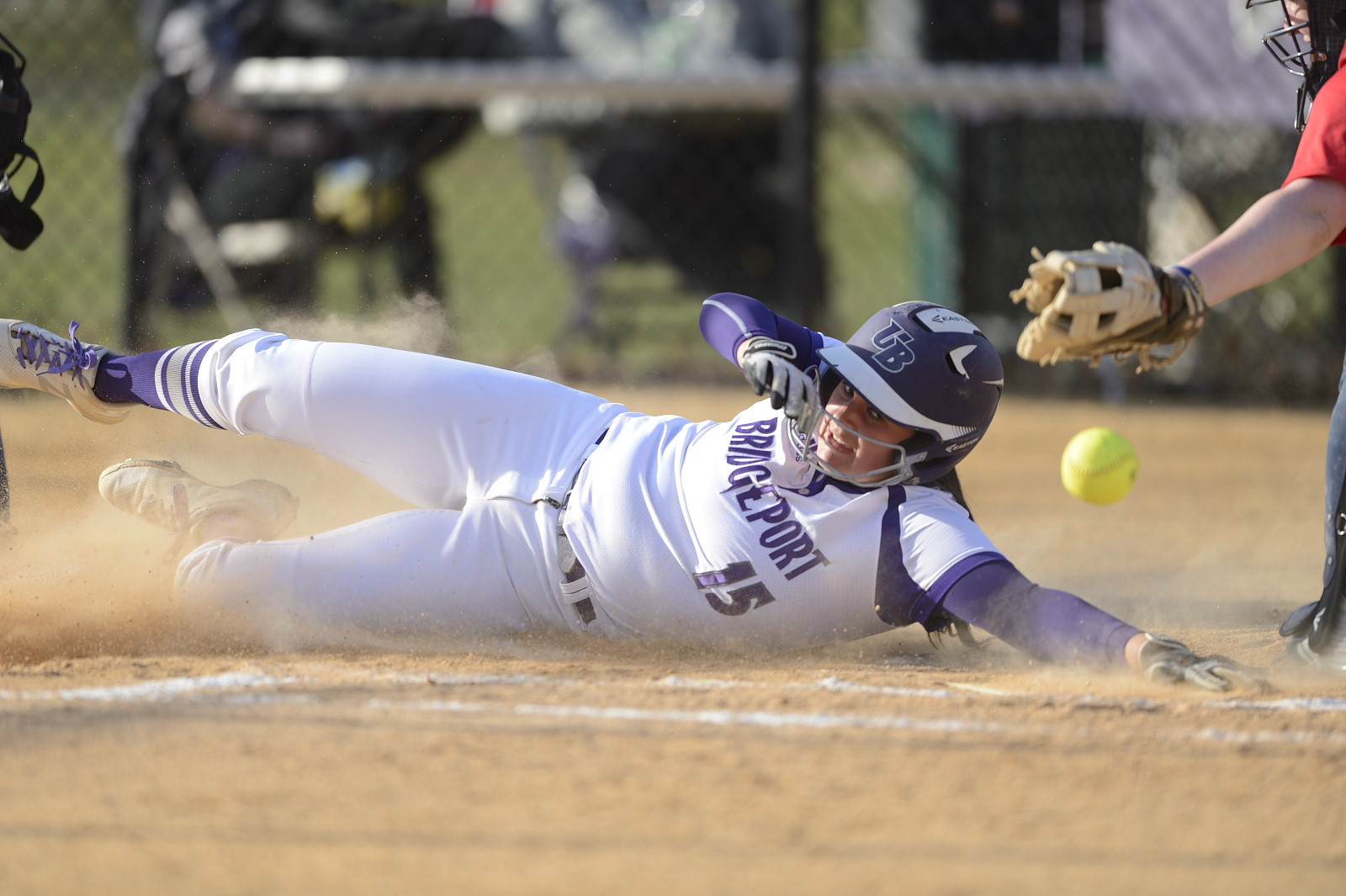 Purple Knights Drop Two One-Run ECC Softball Decisions At NYIT