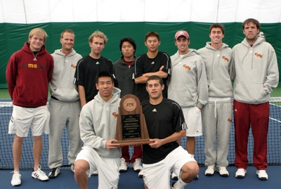 Men's Tennis Captures 3rd at National Team Indoors