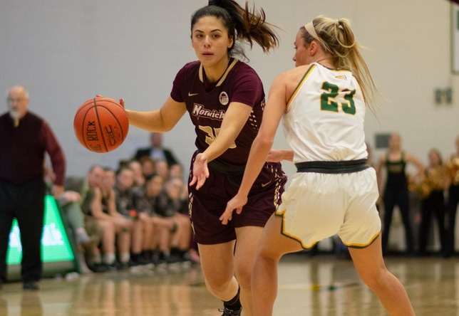 Women's Basketball: Norwich Opens up the New Year with a Loss to Maine Maritime