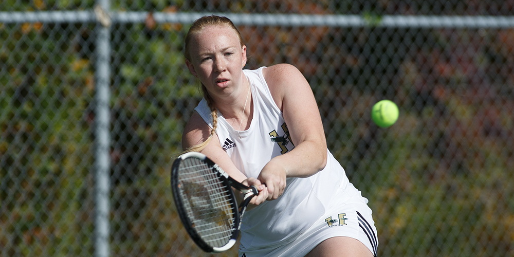 Women's Tennis Falls to Colby-Sawyer, 9-0