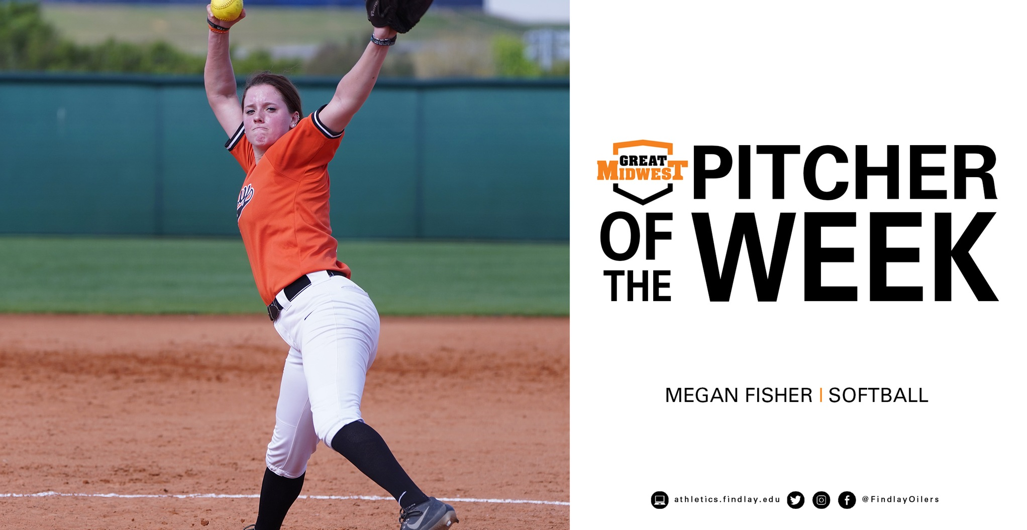 Megan Fisher Earns Pitcher of the Week