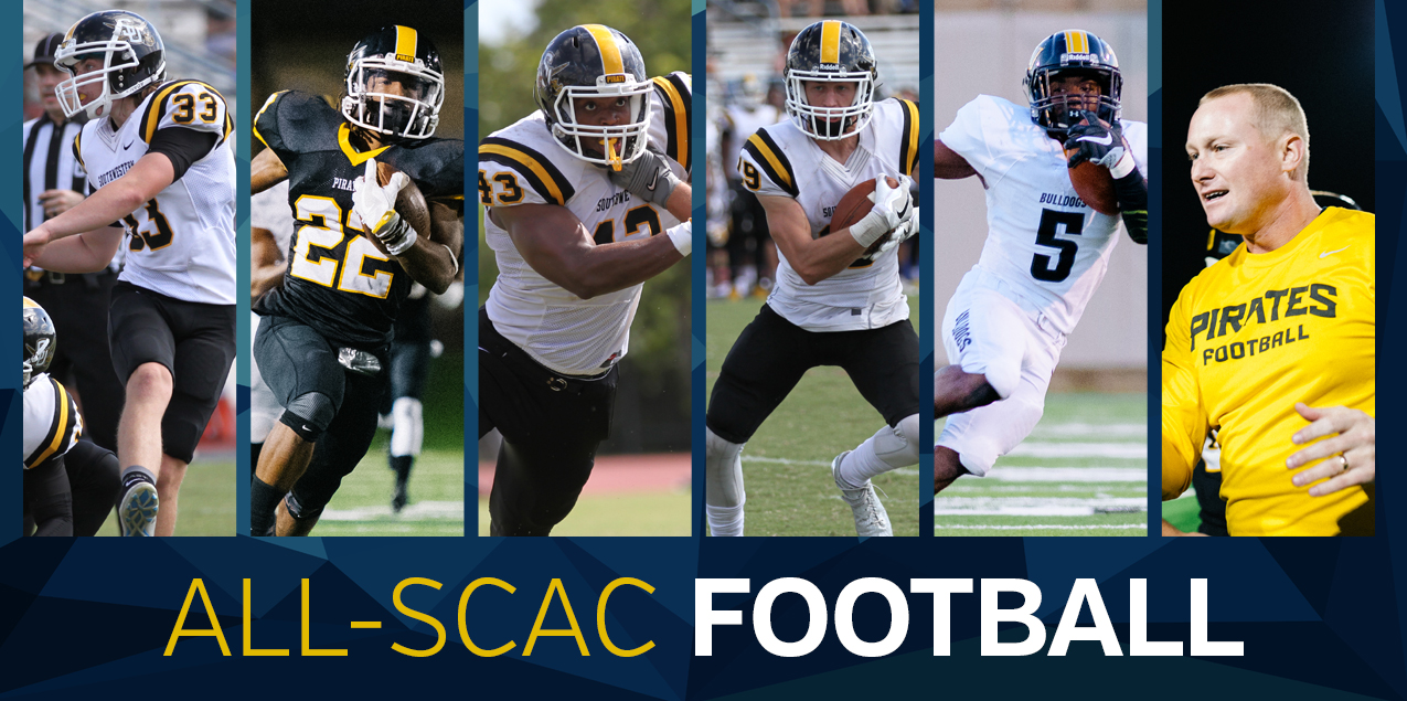 SCAC Announces 2016 All-Conference Football Team