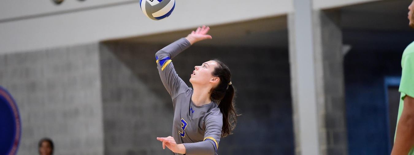 Hartley-Prudell Combo Powers Goucher Women's Volleyball To Straight-Sets Win Against Alvernia