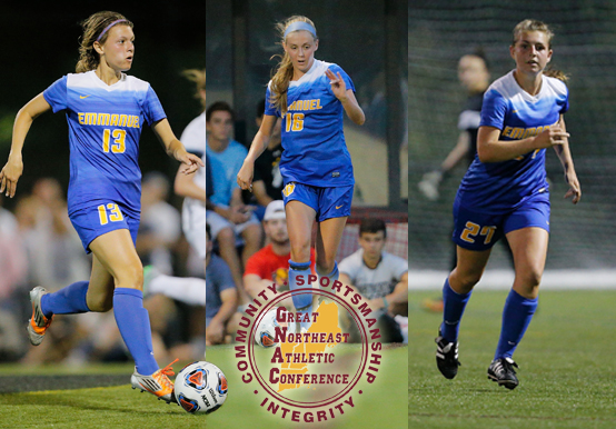 GENERIS, MCKENELLEY & O'KANE EARN ALL-CONFERENCE HONORS; CAMPAGNA NAMED GNAC COACH OF THE YEAR