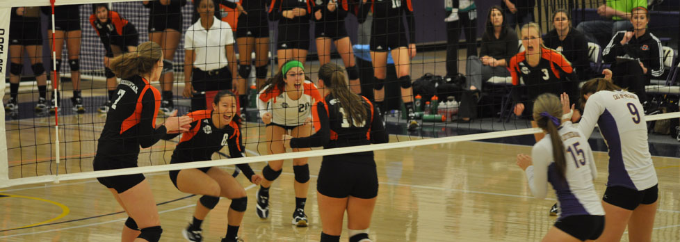 TIGERS VOLLEYBALL WINS FIRST SCIAC TOURNAMENT CHAMPIONSHIP