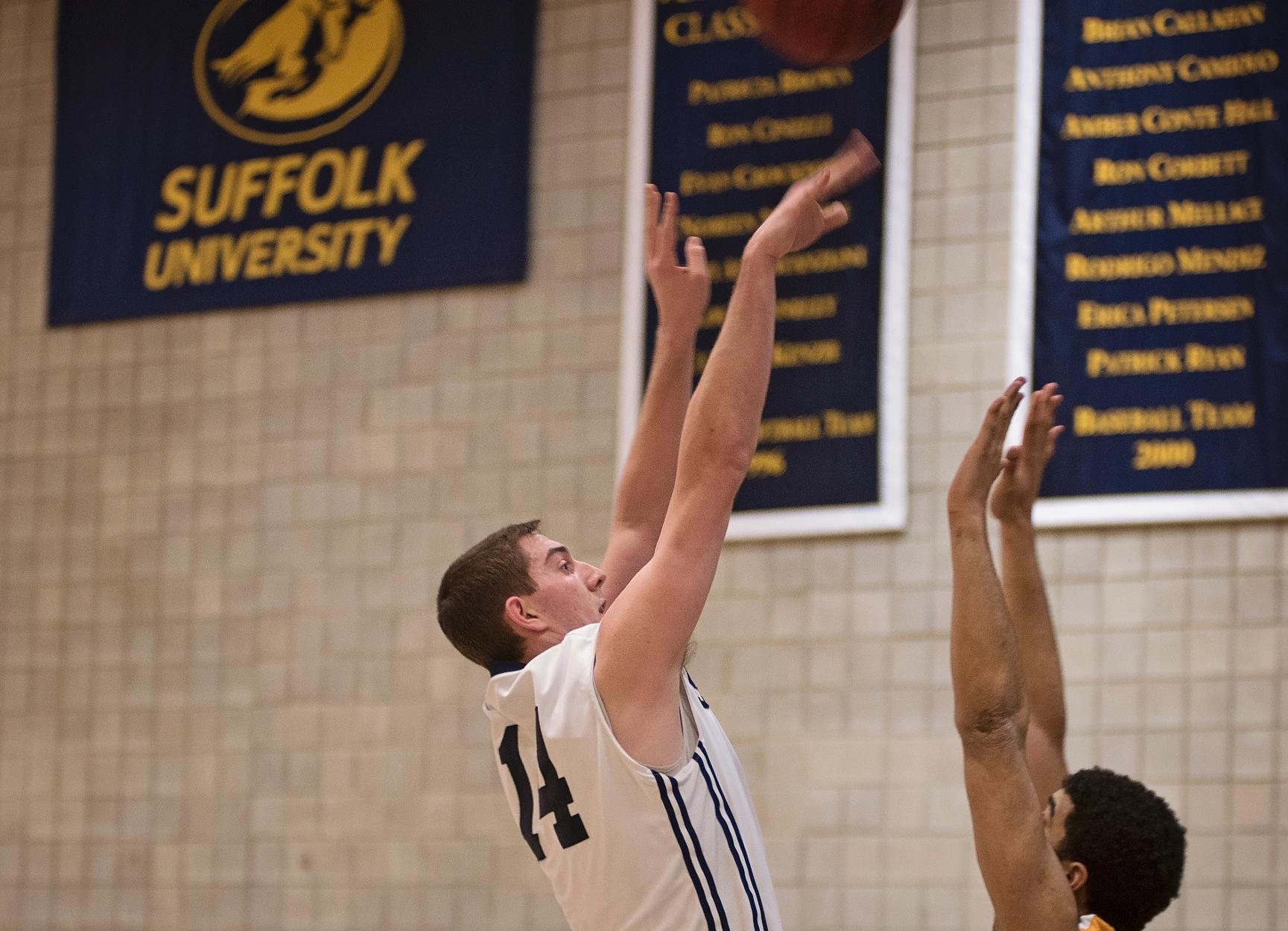 Men's Basketball Comes Up Short Against Emerson, 78-73