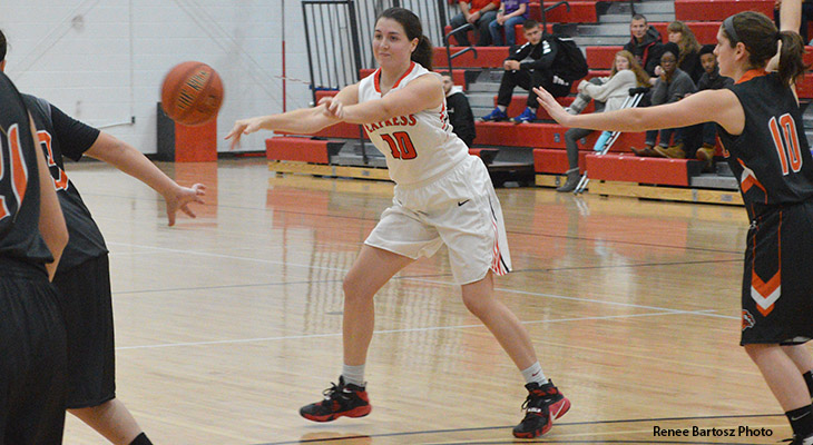 Second Quarter Sparks Women's Basketball Win