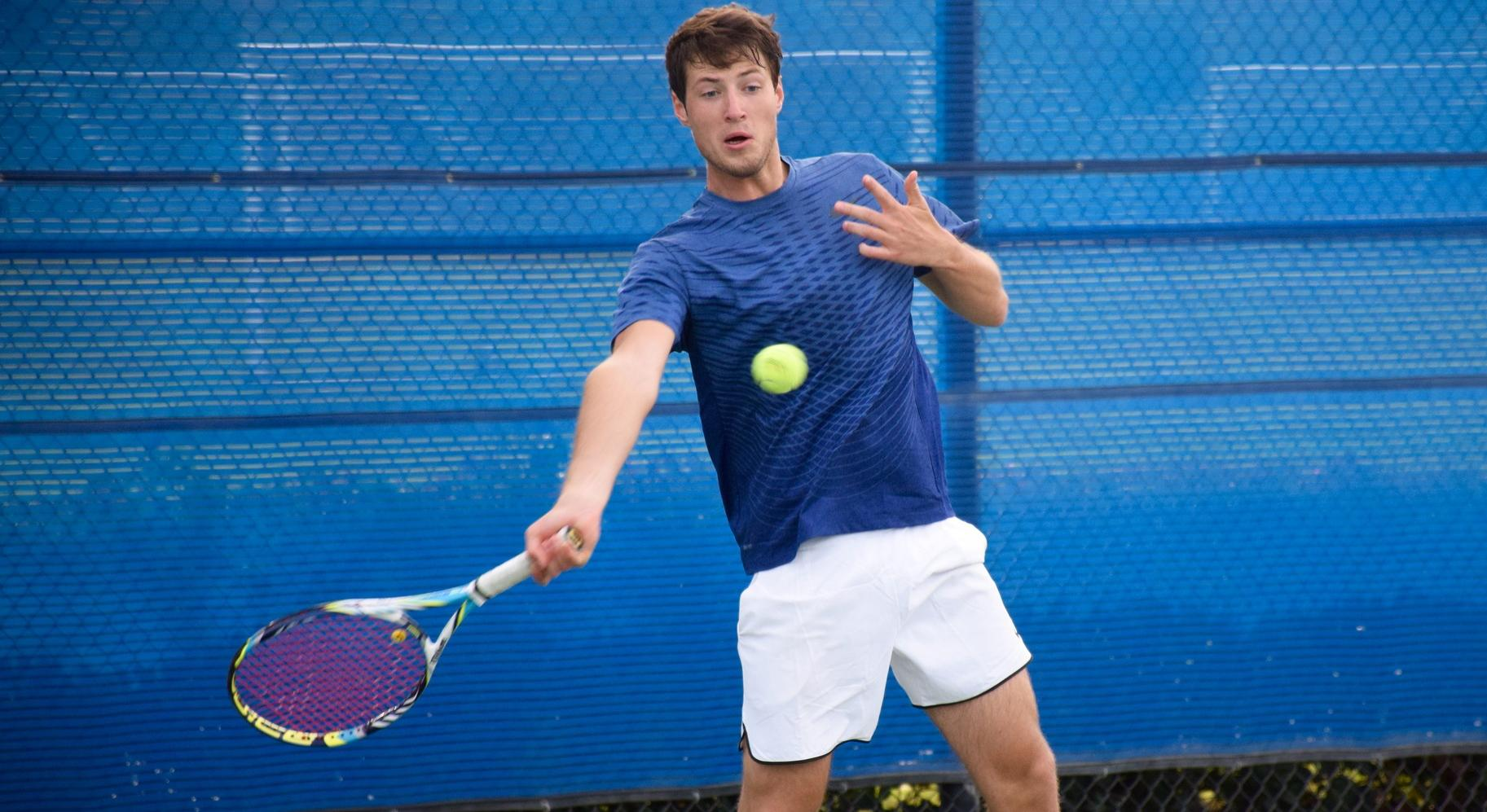 Men's tennis team sweeps past College of the Desert