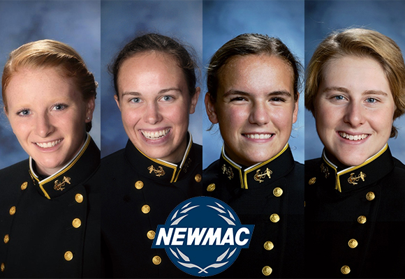 Bears 200 Free Relay named NEWMAC Women's Relay of the Week