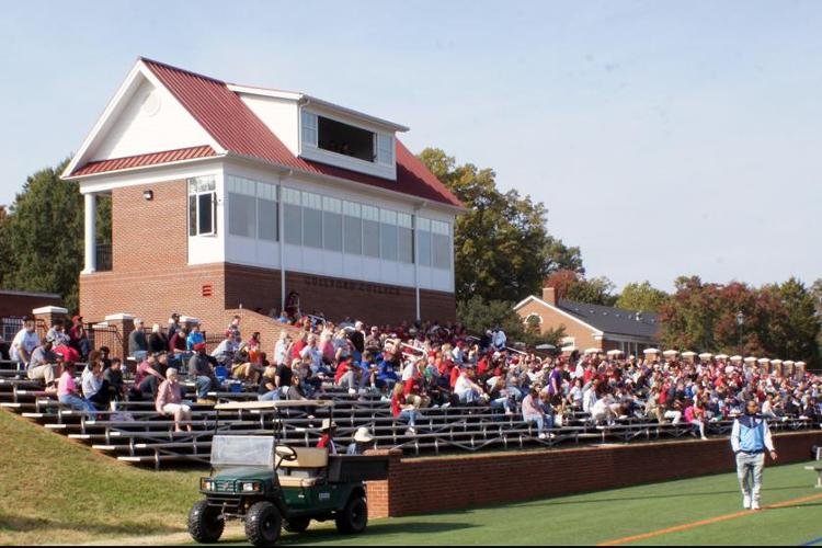 Armfield Athletic Center Crowd (John Bell photo)