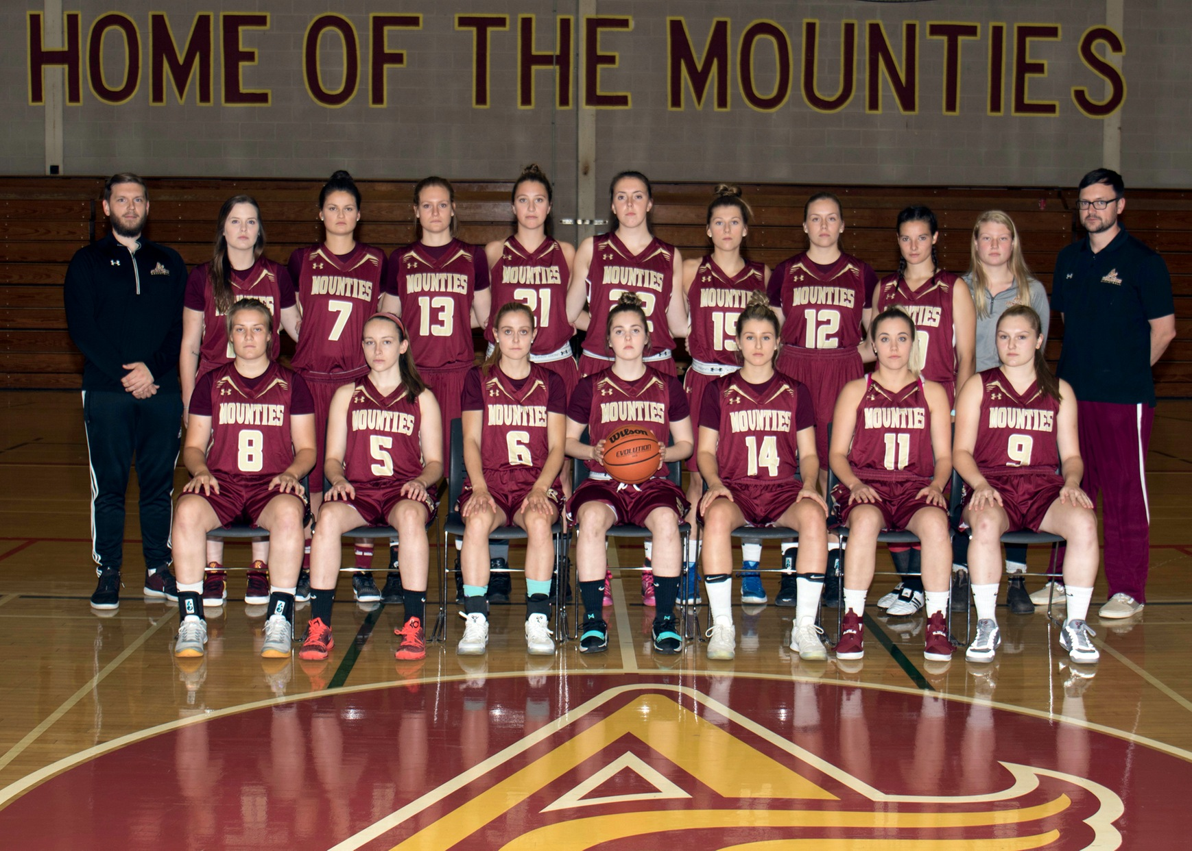 Women's Basketball Team Photo 2017-18
