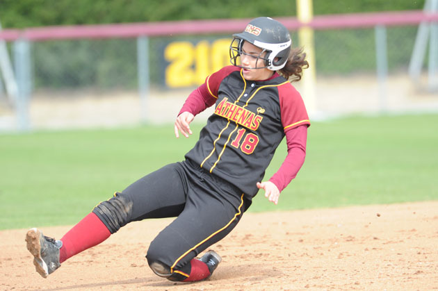 Four Athenas Named NFCA All-West Region, Most In SCIAC