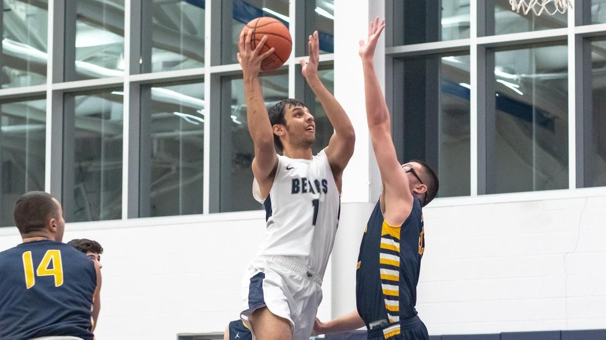 Second-Half Surge Not Enough as Men's Basketball Stumbles at Old Westbury