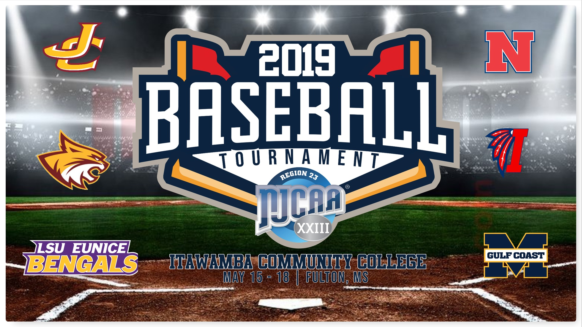 Itawamba CC to host NJCAA Region 23 Baseball Tournament