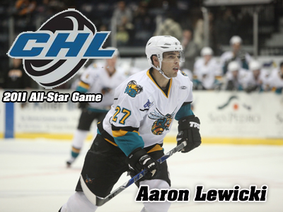 Former Bulldog Aaron Lewicki To Play In 2011 CHL All-Star Game