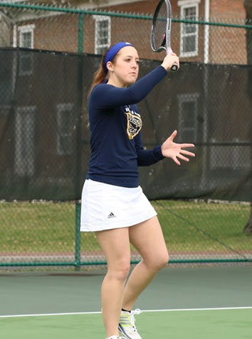 Men's Tennis Falls, 9-0, At Bridgewater, As The Women Also Lose, 7-2, To The Eagles, Sunday Afternoon