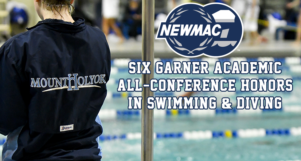 Six From Swimming & Diving Named NEWMAC Academic All-Conference