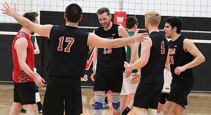 Men's Volleyball Sets Win Record, Clinches Playoff Spot