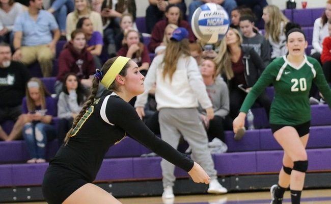 Emily Cottrell led Keuka College with 13 digs on Tuesday