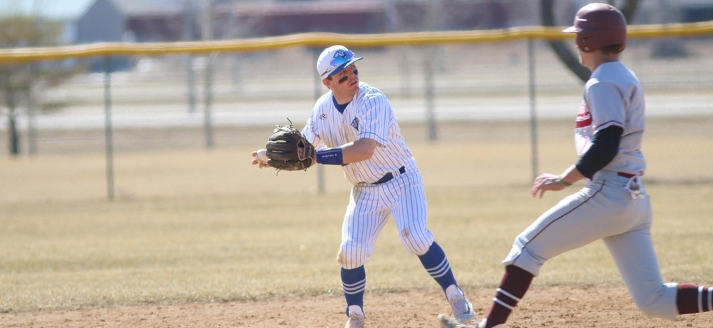 DWU baseball drops two games on the road