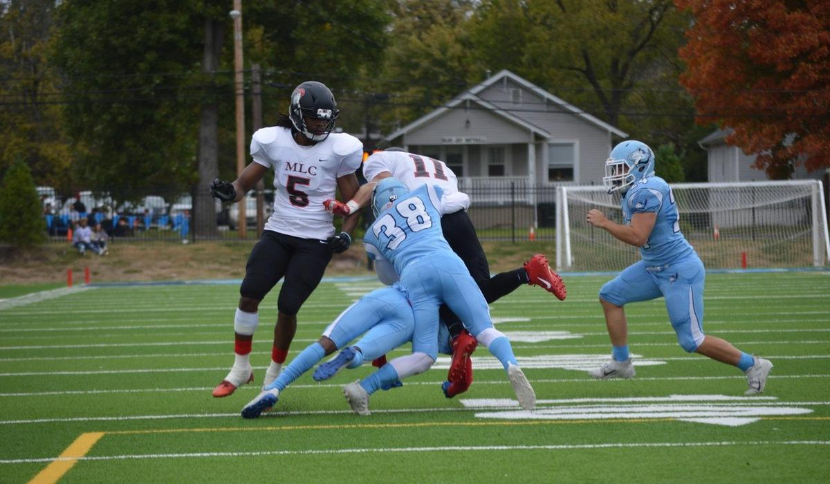 Westminster Football Defeated by Martin Luther