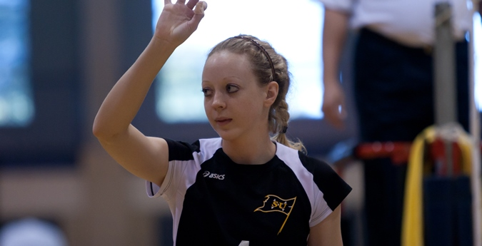 Volleyball falls in SCAC opener