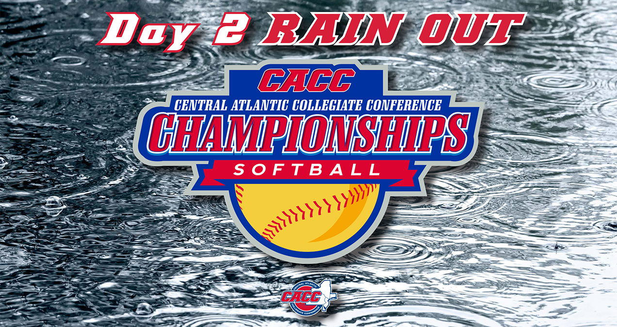 FRIDAY'S CACC SOFTBALL CHAMPIONSHIP GAMES PPD DUE TO INCLEMENT WEATHER