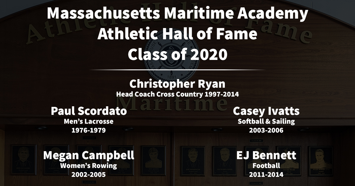 Massachusetts Maritime Academy Athletic Hall of Fame Class of 2020 Selected