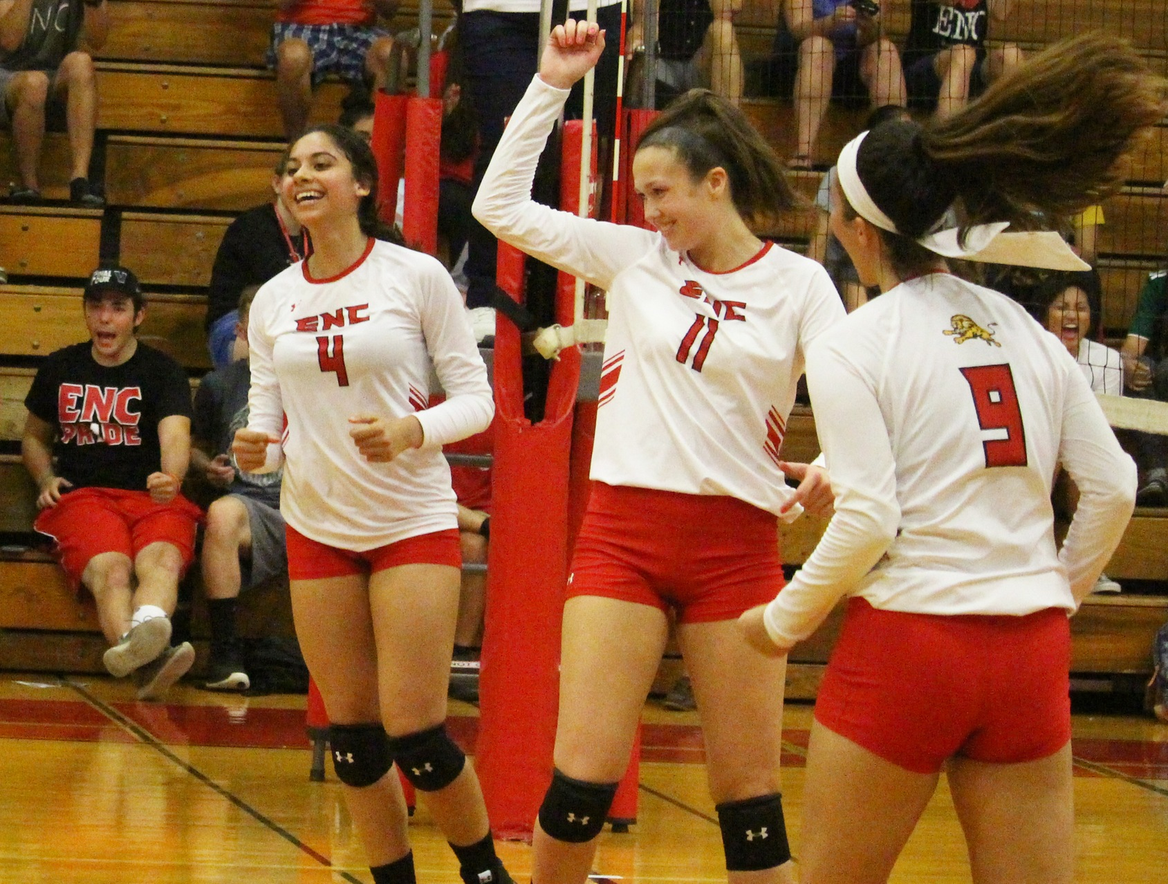 No. 1 Seed Eastern Nazarene Sweeps No. 4 New England College 3-0 to Reach NECC Championship
