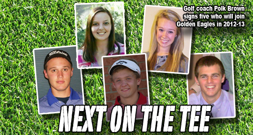 Polk Brown inks five newcomers to join Golden Eagle golf teams