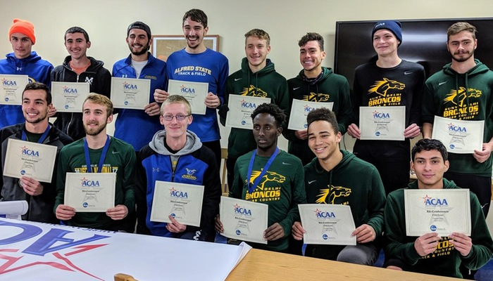 2018 All-ACAA men's cross country teams