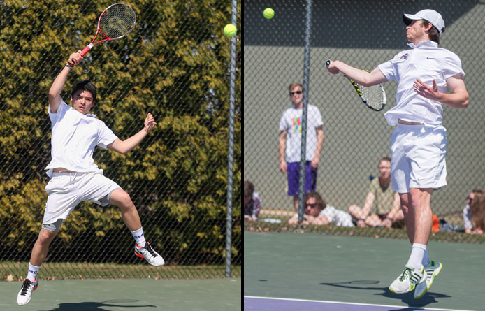 Men's tennis loses 6-3 decision to regionally-ranked West Chester