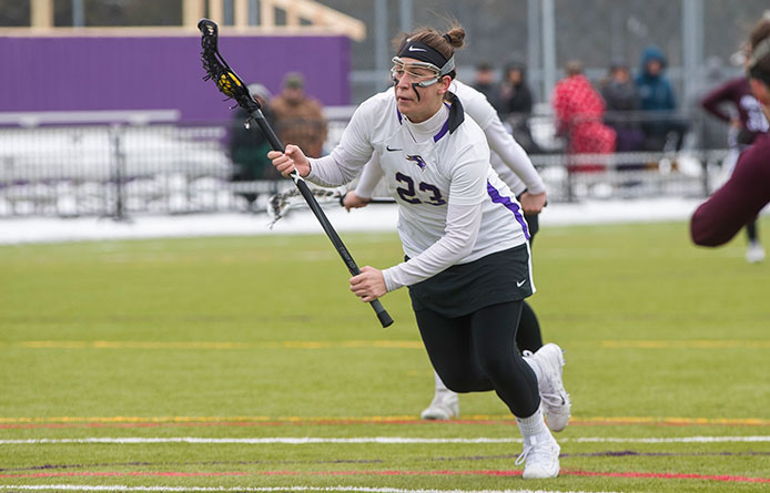 Women's Lacrosse Suffers NE10 Loss to No. 22 Bentley