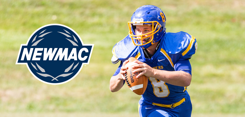 Creeger Named NEWMAC Offensive Athlete of the Week