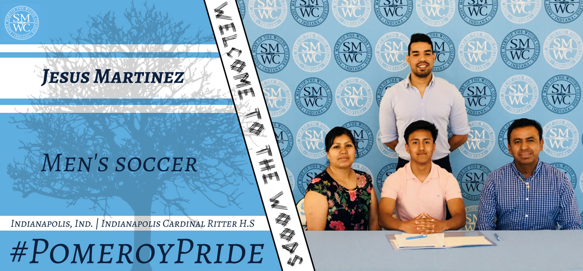 Men's Soccer Inks Jesus Martinez
