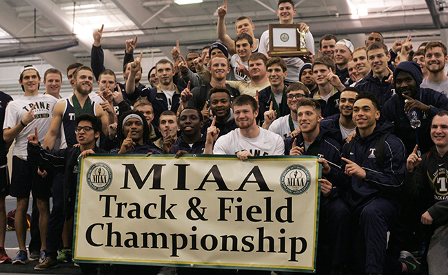 Thunder Claim first MIAA Indoor Track and Field Title