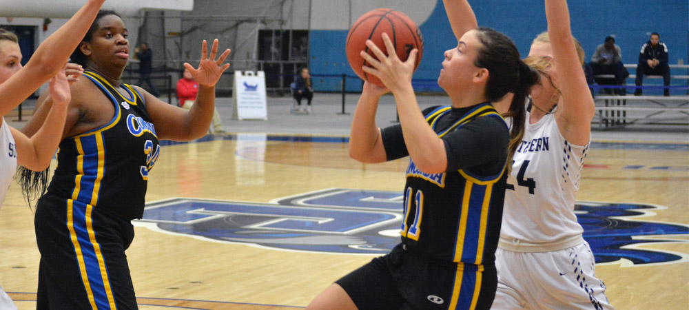Nicholson Matches Women's Basketball Single-Game Record In 70-64 Victory Over Holy Family