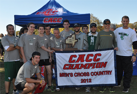 WILMINGTON UNIVERSITY TAKES HOME CACC MEN'S CROSS COUNTRY TITLE