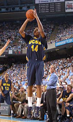 UCSB Turns to the Inside Game in 77-73 Victory at UC Davis