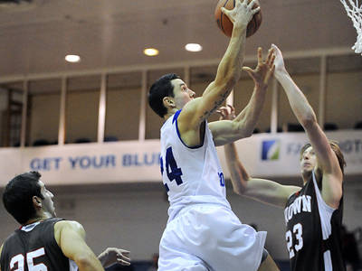 Men's Basketball Wins Fifth Straight, Tops St. Francis (NY) 61-43 on Thursday Night